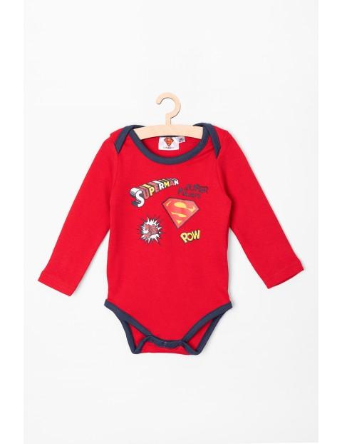 Body chłopięce Superman czerwone