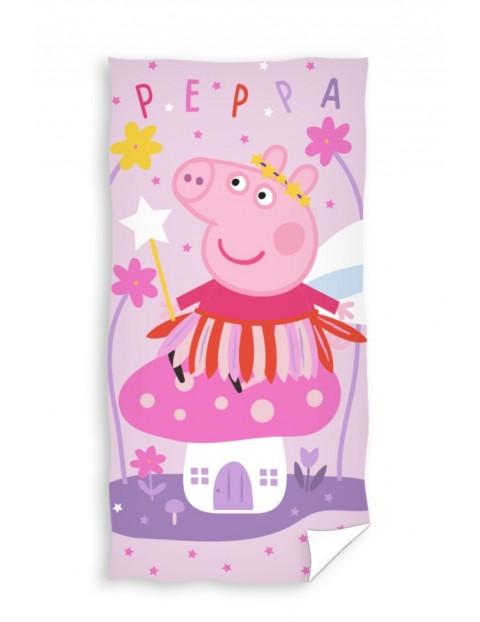 Bawełniany ręcznik kąpielowy  Świnka Peppa  70x140cm