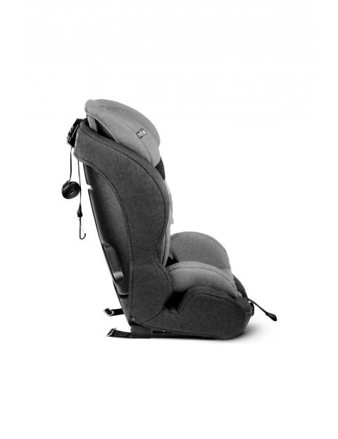 KinderKraft  Fotelik samochodowy  Safety - Fix Isofix 9-36 kg czarno-szary
