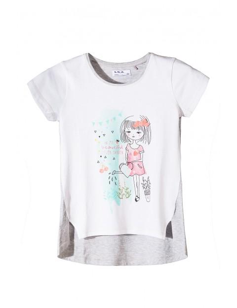 T-shirt dziewczęcy 3I3407