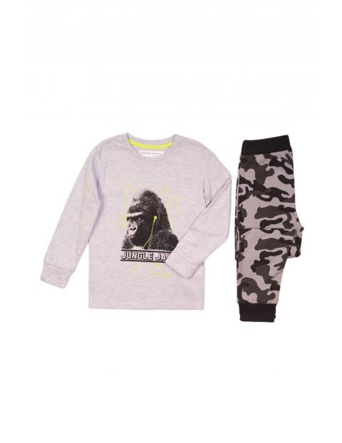 Pidżama chłopięca szara - Goryl