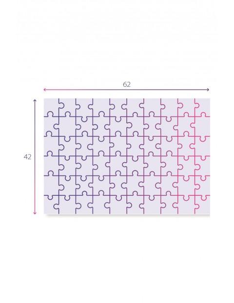 Puzzle  Maxi Super Color Przestrzeń kosmiczna  - 60  elementów wiek 4+