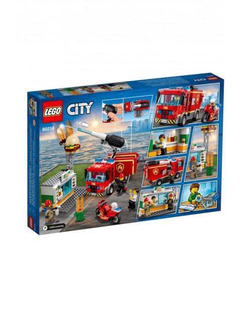 Lego City - Na ratunek w płonącym barze - 327 elementów wiek 5+