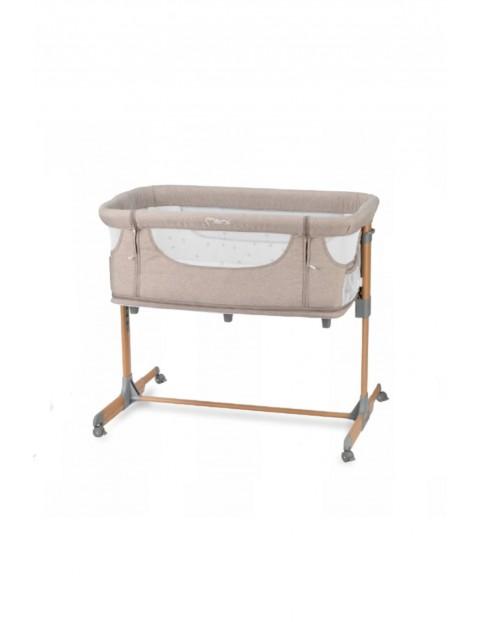 MoMi Smart Bed łóżeczko 4w1 beżowe