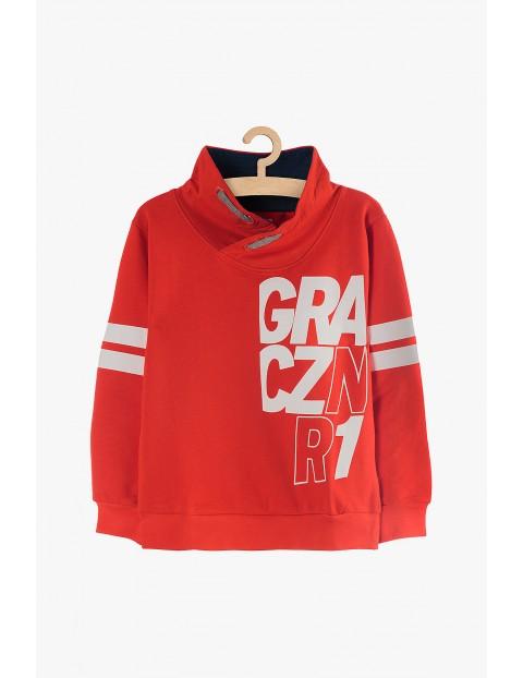 Czerwona bluza dresowa - Gracz nr 1