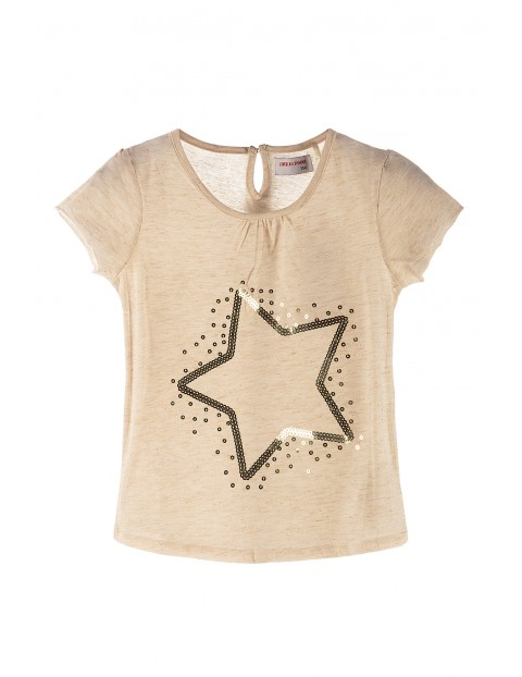 T-shirt dla dziewczynki 4I3518