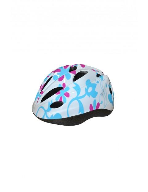 Kask rowerowy dla dziewczynki 4Y32AC