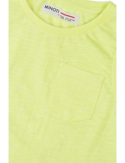 Koszulka chłopięca w kolorze żółtym