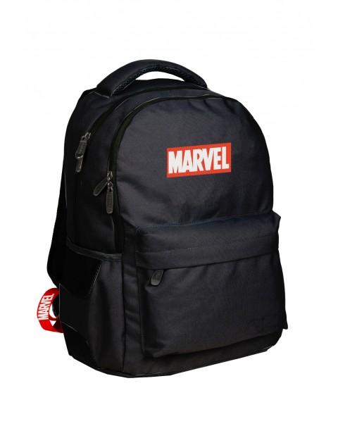 Czarny plecak szkolny Marvel