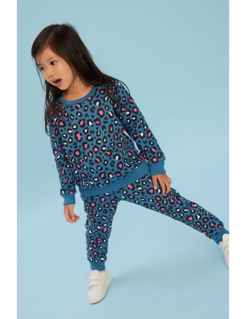 Komplet niemowlęcy granatowy- bluza + spodnie dresowe