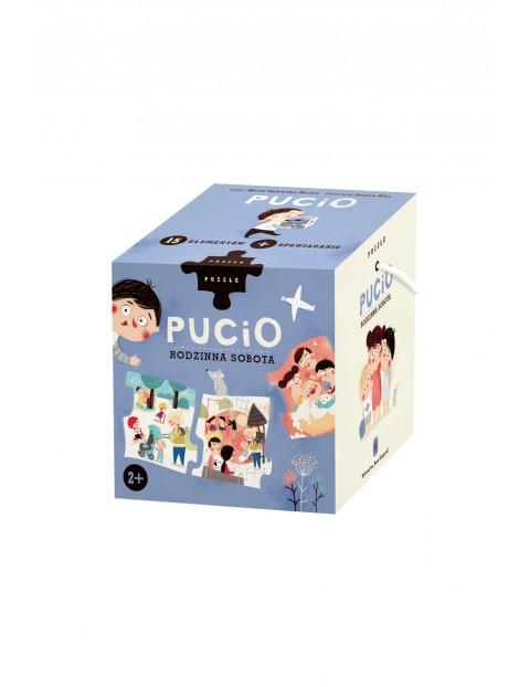Puzzle Pucio. Rodzinna sobota wiek 2+