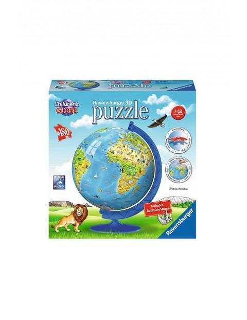Globus po angielsku 180 el.- puzzle Ravensburger