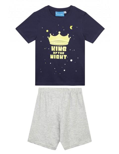 Piżama chłopięca- King of the night