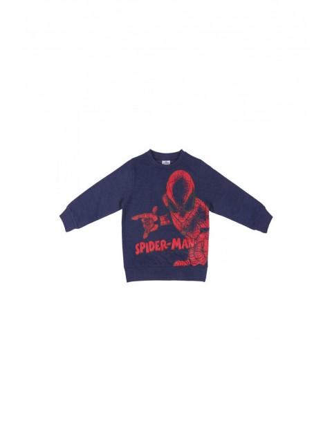 Bluza dresowa Spiderman - granatowa