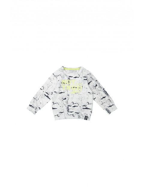 Bluza dresowa dzianinowa niemowlęca