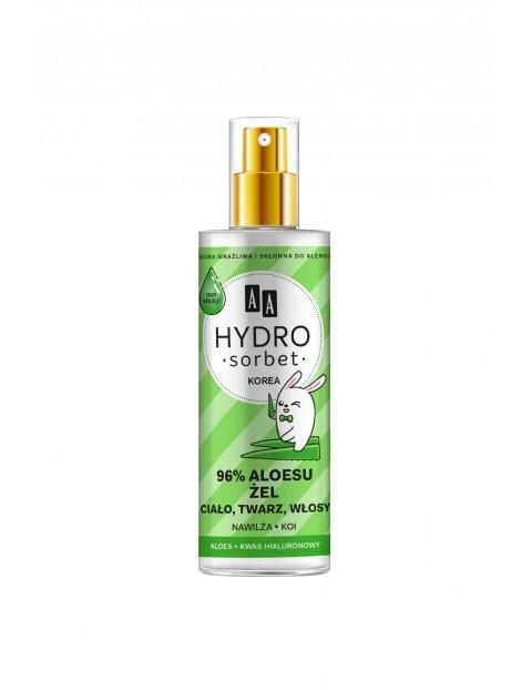 AA Hydro Sorbet żel do ciała, twarzy i włosów 96% aloesu 200 ml