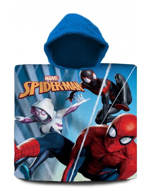 Spiderman poncho kąpielowe 120x60 cm