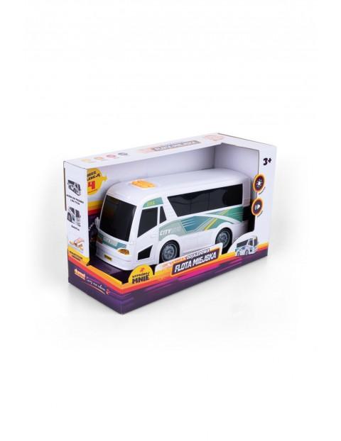 Autobus- zabawka z dźwiękiem i światłem 3+