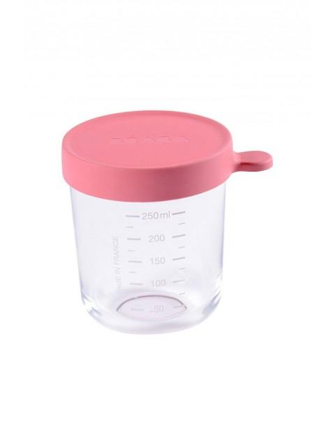 Słoiczek szklany z hermetycznym zamknięciem 250 ml Beaba