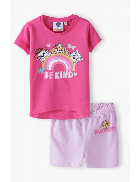 Piżama dziewczęca Psi Patrol - różowa
