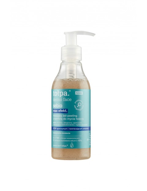 Musujący żel - peeling z kamforą do mycia twarzy 195 ml