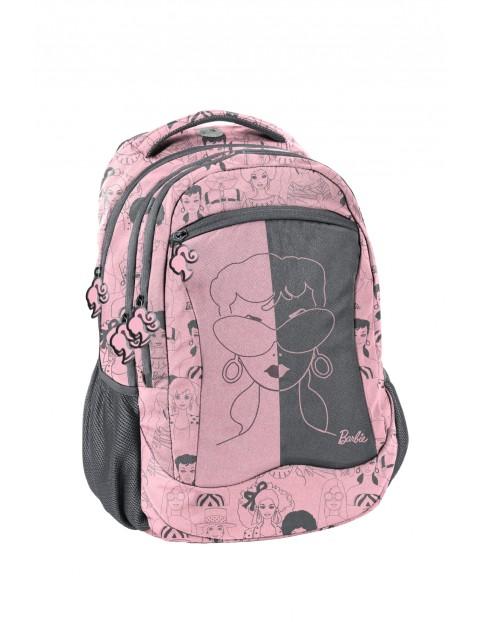 Plecak młodzieżowy do szkoły Barbie różowy