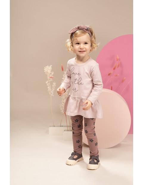 Tunika dziewczęca różowa