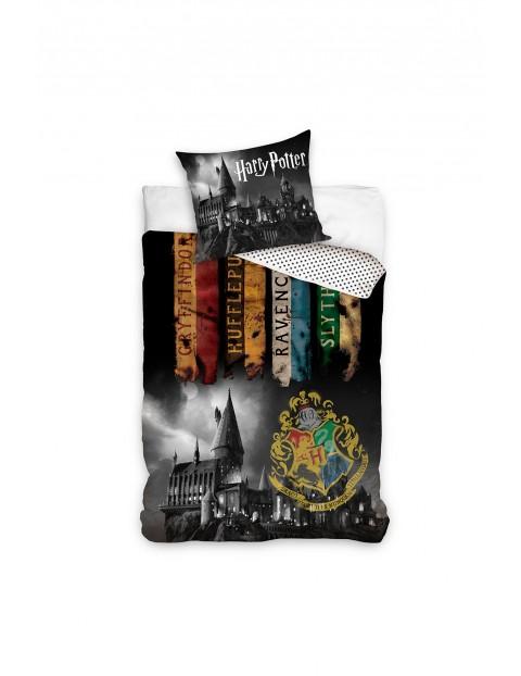 Komplet pościeli bawełnianej Harry Potter 160x200+70x80 cm
