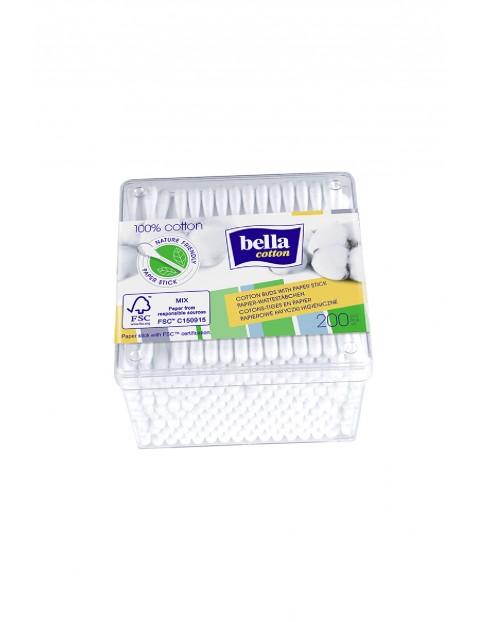 Papierowe patyczki higieniczne Bella Cotton 200szt.