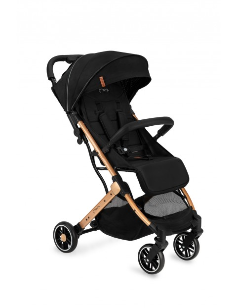 Momi ESTELLE wózek spacerowy czarny wiek 6msc+