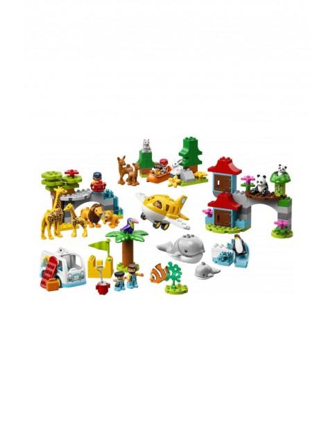 LEGO® DUPLO® Zwierzęta świata -  121 elementów wiek 2+
