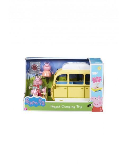 TM Toys Świnka Peppa - Kamper z akcesoriami i 4 figurki wiek 3+