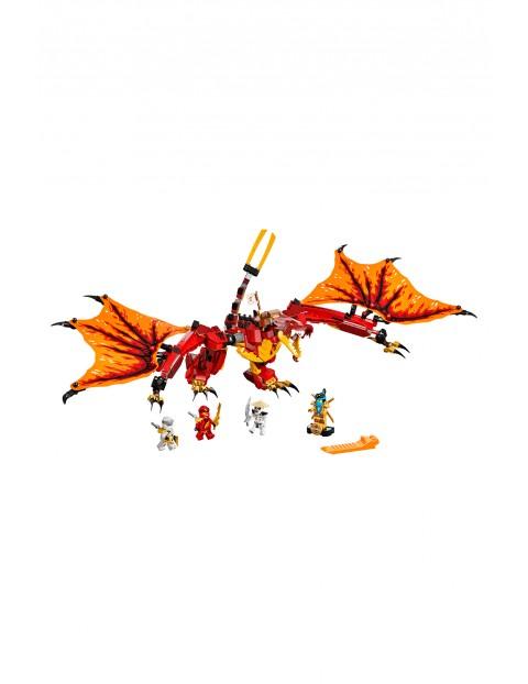 LEGO Ninjago 71753 - Atak smoka ognia - 563 elementów, wiek 8+