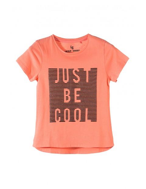 T-shirt dziewczęcy 4I3511