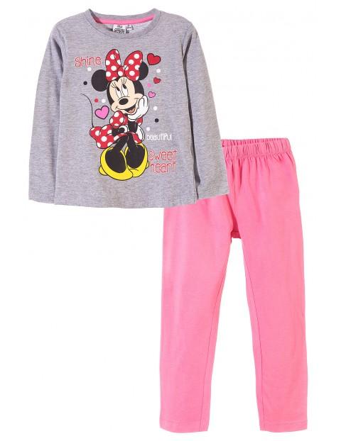 Pidżama dziewczęca Minionki 4W33A1