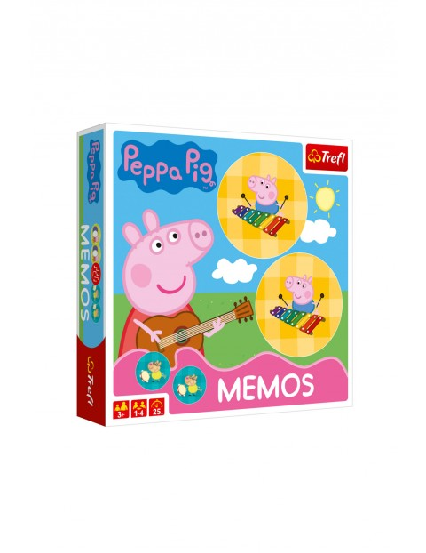 Gra Memos Peppa Pig 3+
