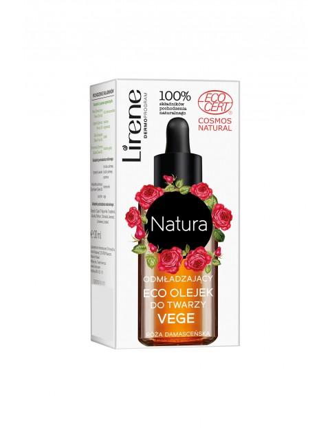 Lirene Natura Odmładzający eco olejek do twarzy vege 30 ml