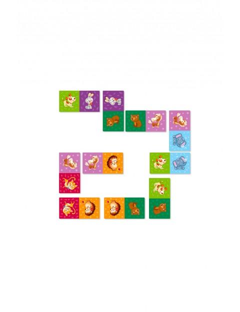 Domino zwierzęta - 29 elementów wiek 3+