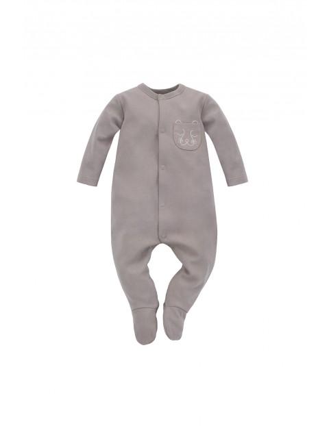 Bawełniany pajac niemowlęcy SLOW LIFE
