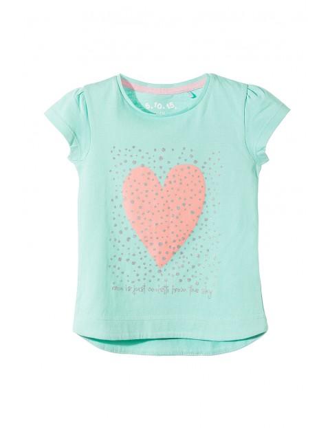 T-shirt dziewczęcy 3I3511