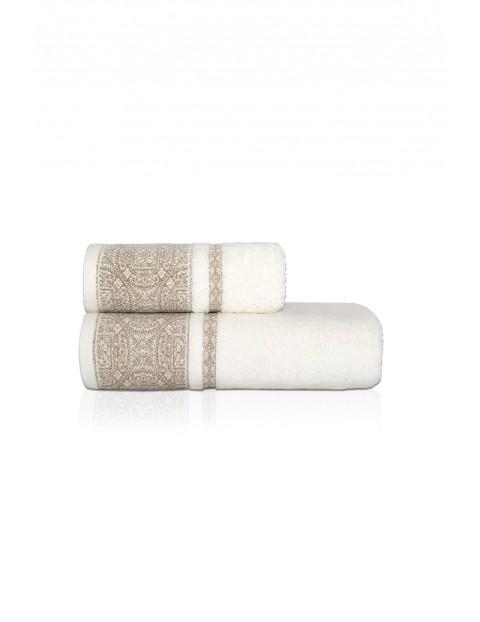 Ręcznik bawełniany SOFIA ecru 50x90cm