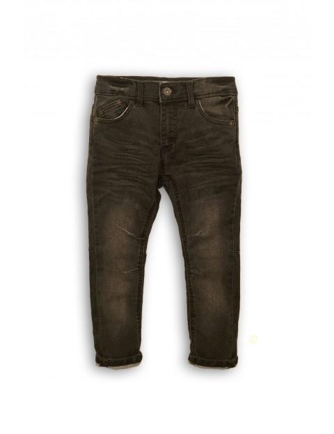 Spodnie chłopięce jeansowe czarne