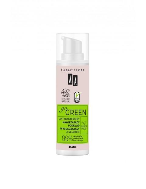 AA Go Green antybakteryjny nawilżający podkład wygładzający NATURAL 30 ml