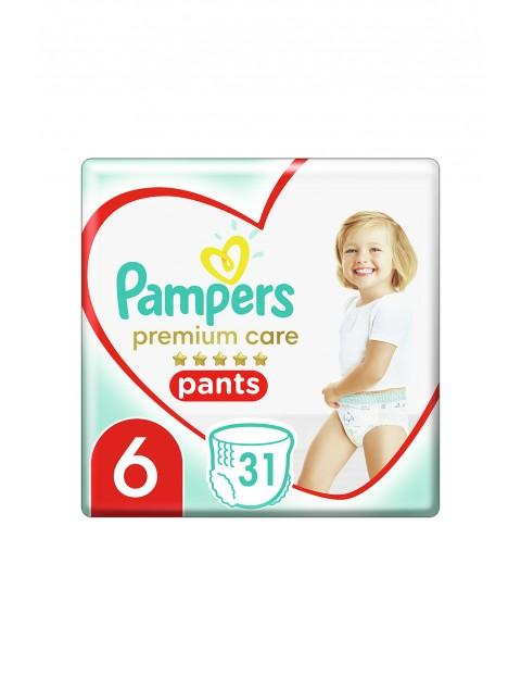 Pampers Premium Care - Pieluchomajtki - rozmiar6, 31szt. 15kg+
