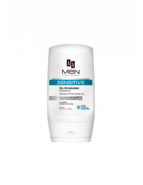 AA Men Sensitive Żel po goleniu chłodzący dla skóry bardzo wrażliwej 100 ml