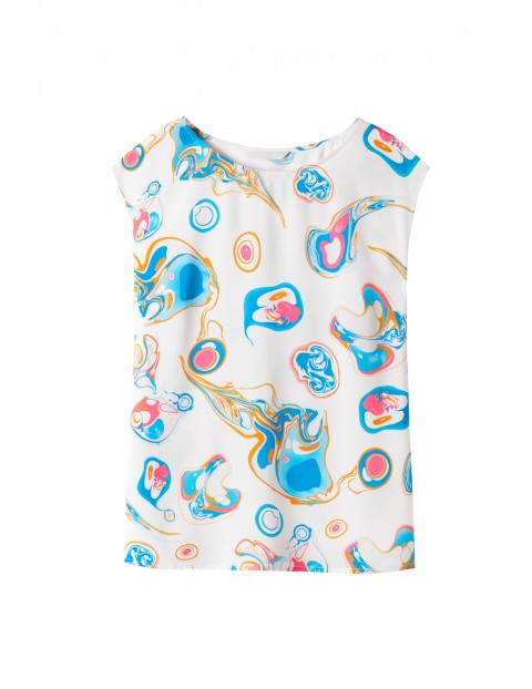 Kolorowa bluzka danska