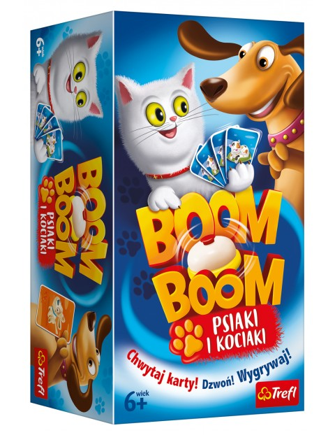"Gra ""Boom Boom - Psiaki i Kociaki"" 6+"