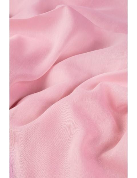 Elegancka apaszka damska- różowa