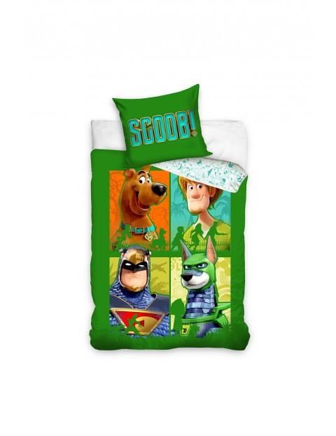 Komplet pościeli bawełnianej Scooby-Doo160x200+70x80 cm