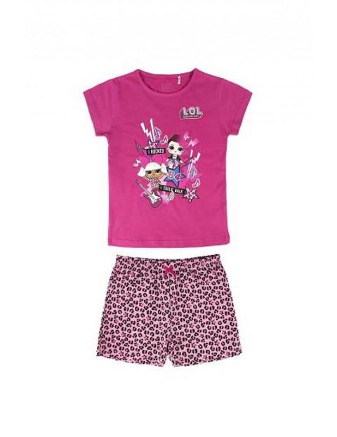 Komplet ubrań dla dziewczynki LOL w kolorze różowym